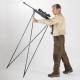 Strelecká palica Bush Stick je ľahká a odolná, poskytuje pozoruhodnú stabilitu iba pre streľbu v stoji . Váha: 820gr Materiál: Hliník 6060T6 nylon vystužené sklenými vláknami počet Dielov: 4 Dľžka v zloženom stave: 170 cm Dľžka v rozloženom stave: 90 cm Vhodné pre výšku postavy 165 cm až 185 cm