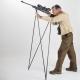 Strelecká palica  Mountain Stick je skladacia, ultra-ľahká,puške poskytuje pozoruhodnú stabilitu aj na veľké dialky v stoji, v kľači aj v sede.   použitie: - Môže byť upravená pre horské streľbu - Môže byť upravená pre streľbu sede alebo kľačí - Hands-free systém, aby bolo možné použiť ďalekohľad - Palicu je možné použiť aj na šikmom povrchu - Monopod - Vychádzková palica - Hmotnosť: 550 gr - Materiály: hliník 7075T6 nylon vystužený skleneným vláknom - Počet dielov: 8 - Veľkosť palice: nastaviteľný (od 130 do 185 cm) - Veľkosť palice v rozobratom stave: 65 cm - Výška používateľa: 130 cm 200 cm -táto strelecká palica umožňuje streľbu v stoji aj v sede