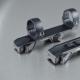 Spičková nemecká rýchloupínacia montáž pre všetky veľkosti krúžkov aj naklonené o 20 MOA, šíny Swarovski, Zeiss, Convex, Prisma
