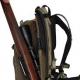 12/20-litrový lovecký batoh s jedinečným patentovaným systémom Quick Rifle Release (QRR).  Technické údaje:  -Objem: 12 a po rozšírení 20 litrov (nezahŕňa priestor na zbraň) -Patentovaný systém QRR systému Vorn Equipment. Pozrite si video na adrese www.vornequipment.com -Priestranná a dobre polstrovaná zbraňová priehradka. Vyhovuje všetkým bežným poľovníckym brokovniciam a puškám s alebo bez puškohľadov alebo bipodov. -Vnútorný rám z hliníka 6061 T6, ktorý efektívne prenáša zaťaženie z hlavného priestoru do nosného systému. -Široké a pomerne tenké ramenné popruhy zaisťujú pohodlné nosenie, ale pri streľbe nezasahujú do zadnej časti strelnej zbrane. -Kvalitný bedrový pás pre pohodlný prenos nákladu. V bedrovom páse je MOLLE na upevnenie vreciek a príslušenstva. -Vonkajšie a vnútorné vrecká a priehradky na uloženie a ľahký prístup k vášmu loveckému vybaveniu. -Vnútorné vrecko na hydratáciu (nie je súčasťou dodávky). -Hmotnosť: 2,6 kg -YKK zipsy a klzáky -Duraflex Acetate spony -Vysoko kvalitné nylonové popruhy