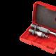 Kalibrovacia matrica s bushingom a osádzacia matrica s micrometrom. K matrici je nutné objednať bushingový krúžok v cene 30EUR. Dostupné v kalibroch 223rem, 6x47lapua, 6mm creedmoore, 6,5x47lapua, 6,5x55, 260rem, 6,5mm creedmoore, 6,5-284norma, 6,5PRC, 284win, 7mm rem mag, 7mm wsm, 308win, 30-06spring, 300wsm, 300win mag, 300PRC, 338lapua mag