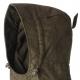 ? pánska zimná bunda parkerového strihu - vhodná pre veľmi chladné zimné obdobie ? membrána Seetex - vodný stĺpec 5 000 mm - odolná vetru a vode ? tichý mäkký priedušný materiál, podšívka s fleecovým povrchom, veľmi dobre tepelne izoluje ? farba tmavo zelená ? 2 bočné vrecká zateplené fleecom, 2 spodné priestranné vrecká na patenty - vnútri pútka na náboje, 3 náprsné vrecká, 2 vnútorné vrecká ? strelecké upínanie vreciek ? dvojcestný zips krytý légou na patenty ? vnútri bundy odopínacia zateplená vesta - možno nosiť samostatne ? v golieri všitá reflexná páska ? sťahovanie v páse a v dolnom okraji ? praktické sťahovanie rukávov na patenty ? odopínacia nastaviteľná kapucňa